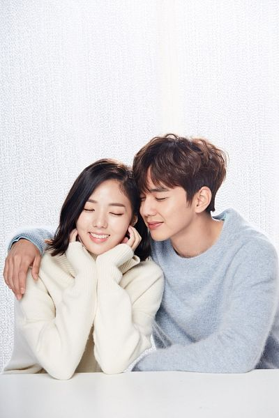 Tags: K-Drama, Chae Soo-bin, Yoo Seung-ho, Eyes Closed, Hand On Cheek, Couple, Light Background, Hand On Head, White Background, Duo, Medium Hair, Arm Around Shoulder