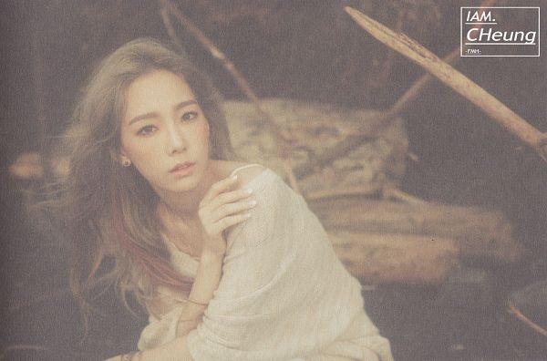 Tags: K-Pop, I (song), Kim Tae-yeon, Hand On Shoulder, Brown Outfit, Bend Over, Wallpaper