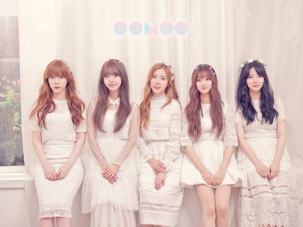 Tags: K-Pop, I.B.I, Han Hyeri, Kim Sohee (Nature), Lee Haein, Lee Soohyun, Yoon Chaekyung, Five Girls, Blunt Bangs, Hair Ornament, Lace, Short Sleeves