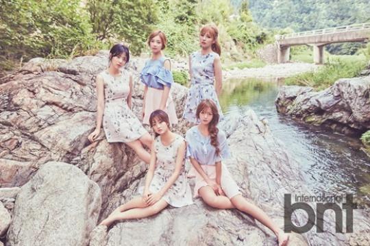 Tags: K-Pop, I.B.I, Lee Haein, Lee Soohyun, Yoon Chaekyung, Han Hyeri, Kim Sohee (Nature), River, Quintet, Water, Group, Full Group