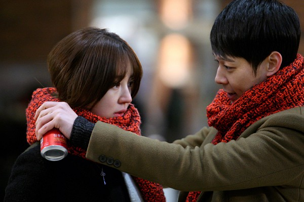 Tags: K-Drama, K-Pop, JYJ, Yoon Eun-hye, Park Yoo-chun, Scarf, Duo, Couple, Night, I Miss You