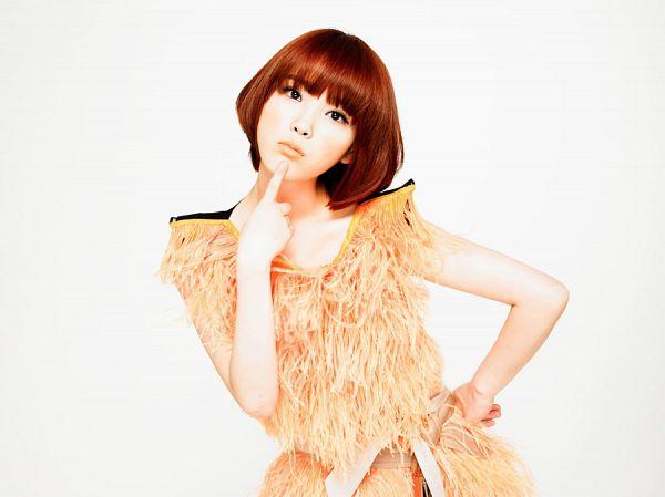 Tags: K-Pop, IU, Light Background, White Background, Orange Dress, IU...IM
