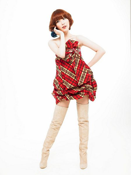 Tags: K-Pop, IU, Light Background, White Background, Full Body, Red Dress, Boots, IU...IM