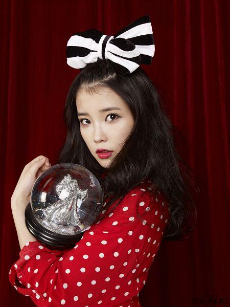 Tags: K-Pop, IU, Red Dress, Android/iPhone Wallpaper, IU 2012 Calendar
