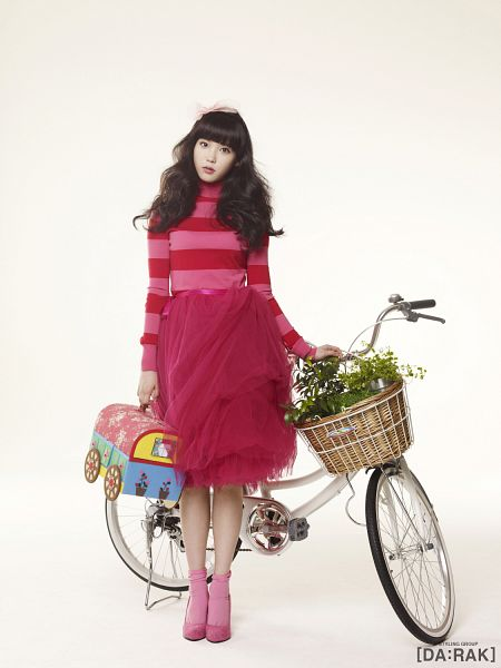 Tags: K-Pop, IU, Bicycle, Basket, Android/iPhone Wallpaper, IU 2012 Calendar