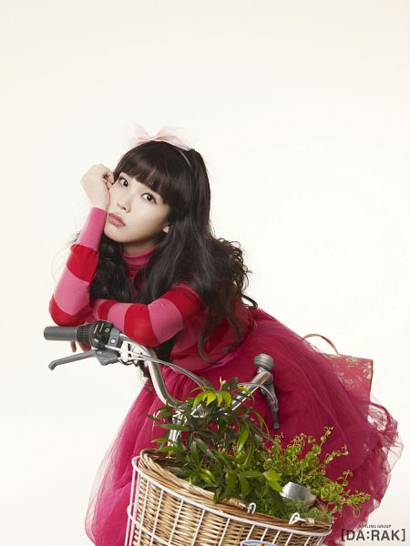 Tags: K-Pop, IU, Bicycle, Basket, Android/iPhone Wallpaper, IU 2012 Calendar