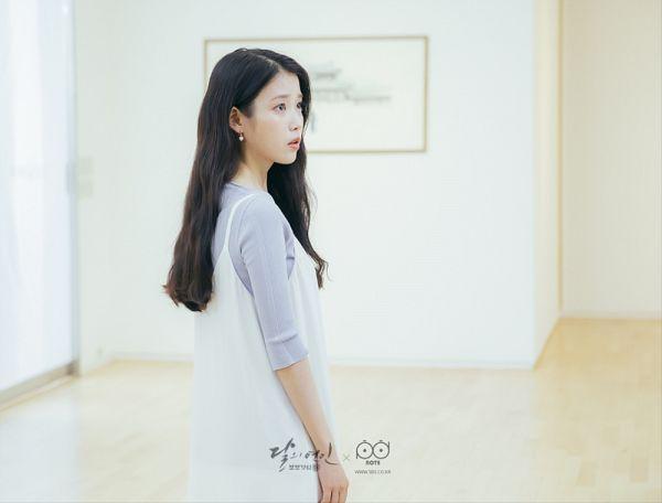 Tags: K-Drama, K-Pop, IU, Dress, Standing, White Dress