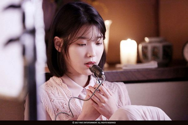 Tags: K-Pop, Through the Night, IU, Fire, Candle, Singing, Palette