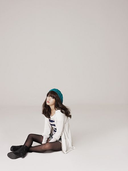 Tags: K-Pop, IU, Striped Shirt, Hat, Ysb, Android/iPhone Wallpaper
