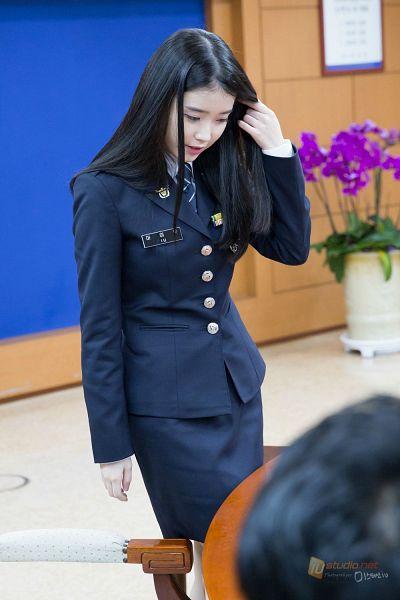 Tags: K-Pop, IU, Tie, Skirt, Uniform