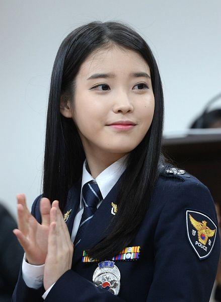 Tags: K-Pop, IU, Uniform, Facial Mark, Tie, Mole