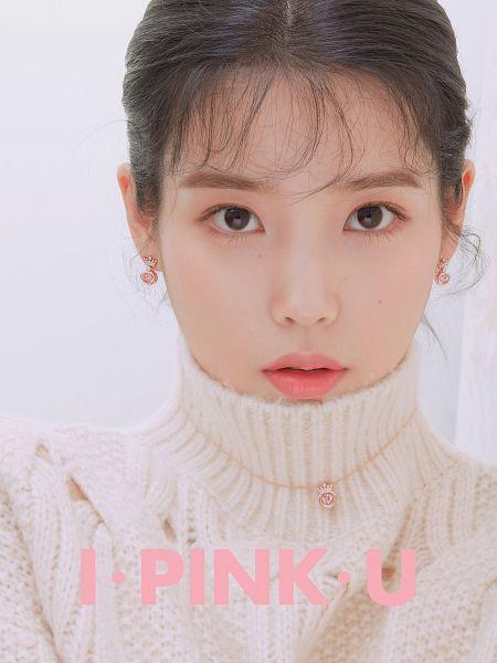 Tags: K-Pop, IU, Pink, Mole, Facial Mark, Collar (Clothes), Turtleneck, Serious, Necklace, J.Estina