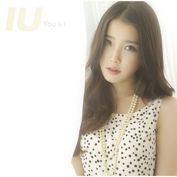 Tags: K-Pop, You & I, IU, Necklace, Spotted Dress, Scan, Album Cover