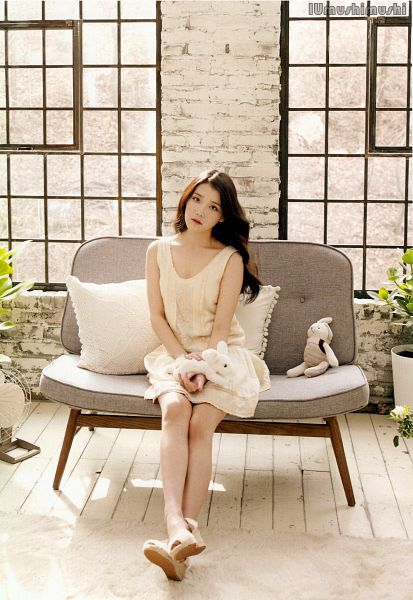 Tags: K-Pop, Good Day, IU, Window, Sleeveless, Couch, Stuffed Animal, White Outfit, Sleeveless Dress, Sitting On Couch, White Dress, Android/iPhone Wallpaper