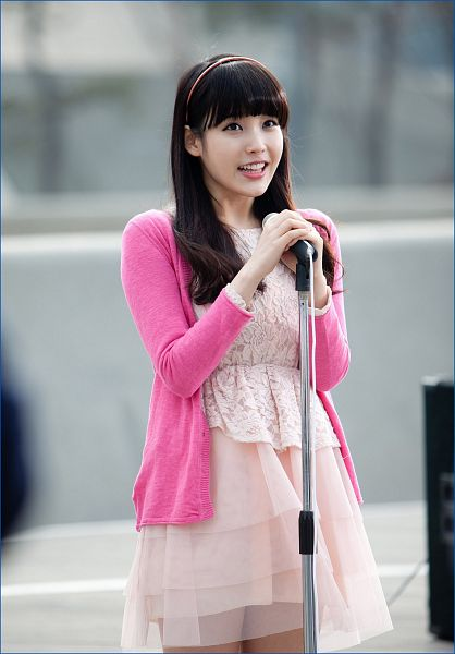 Tags: K-Pop, IU, Pink Dress, Pink Outerwear, Pink Outfit, Nongshim Noodles