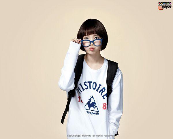 Tags: K-Pop, IU, Glasses, Backpack, Bag, Le Coq Sportif