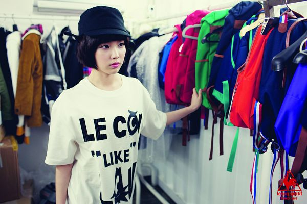 Tags: K-Pop, IU, Hat, Wallpaper, Le Coq Sportif