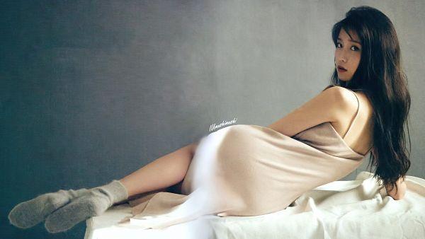 Tags: K-Pop, IU, Laying Down, Socks, Wallpaper, HD Wallpaper, Magazine Scan, Singles