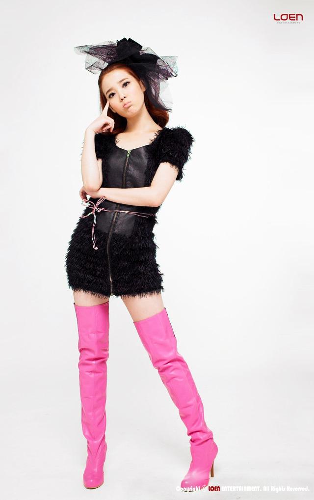 Tags: K-Pop, IU, White Background, Black Dress, Boots, Light Background, IU...IM