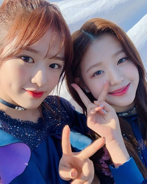 Tags: K-Pop, IZ*ONE, Jang Wonyoung, Ahn Yujin