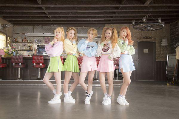 Tags: SM Town, K-Pop, Red Velvet, Ice Cream Cake (Song), Joy, Wendy, Kang Seul-gi, Irene, Yeri, Wallpaper
