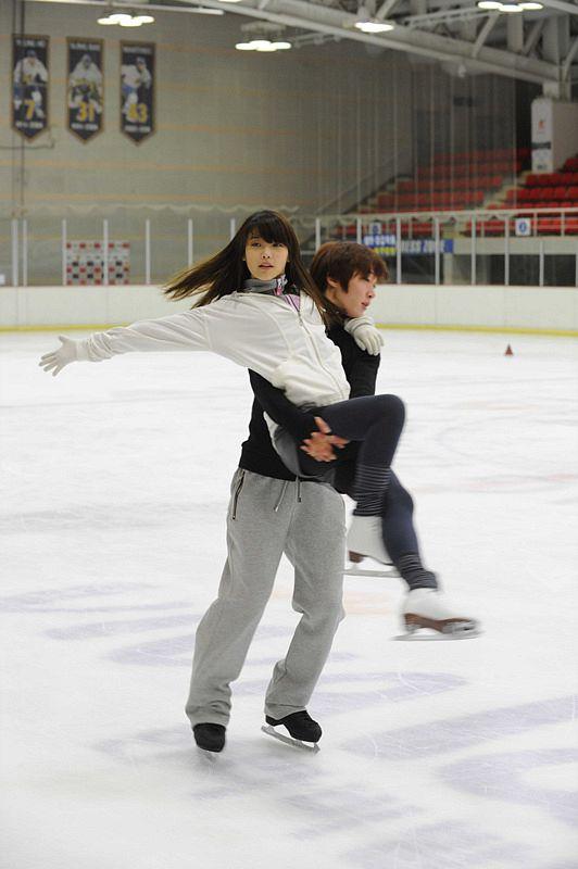 Ice Skating - Skating
