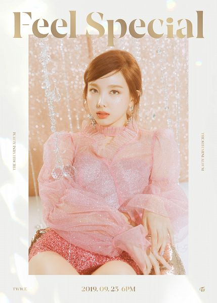 Tags: K-Pop, Twice, Im Nayeon, Text: Artist Name, Text: Album Name, Text: Calendar Date, English Text, Feel Special, Twitter