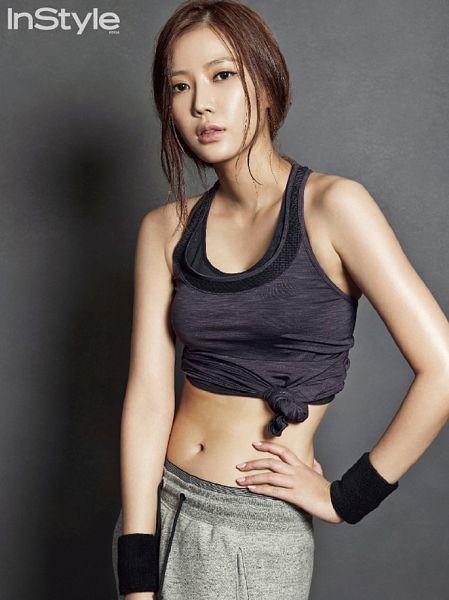 Tags: K-Drama, Im Soo-hyang, Crop Top, Navel, Midriff, Scan, Magazine Scan, InStyle