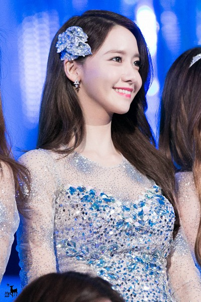 Tags: K-Pop, SM Town, Girls' Generation, Im Yoona, Dress, Blue Dress, Blue Outfit, Mobile Wallpaper