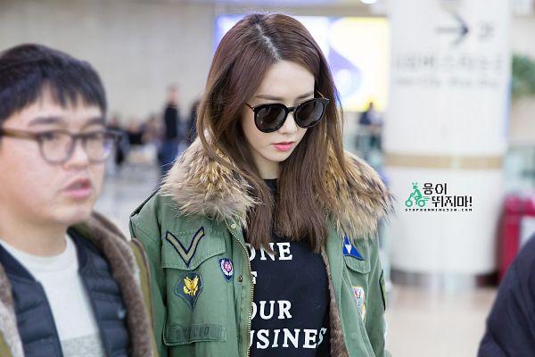 Tags: K-Pop, Girls' Generation, Im Yoona, Glasses, Sunglasses, Airport, Wallpaper
