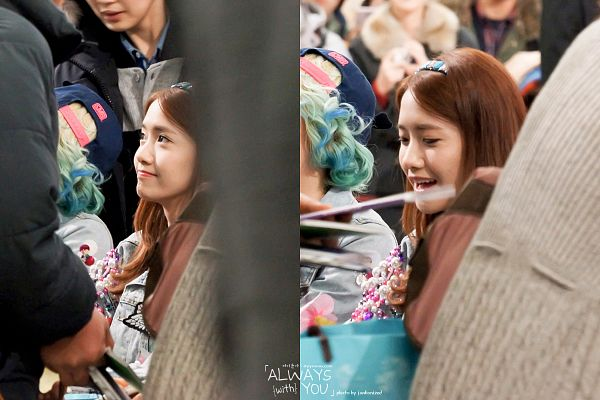 Tags: K-Pop, Girls' Generation, Im Yoona, Looking Down, Side View, Multiple Persona, Denim Jacket, Looking Up, Hairband, Eyes Half Closed, Headdress, Always With You