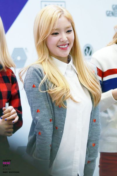 Tags: K-Pop, Red Velvet, Irene, Gray Outerwear, Gray Jacket, Blonde Hair, Looking Ahead, Android/iPhone Wallpaper