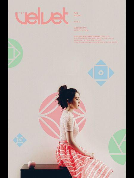Tags: SM Town, K-Pop, Red Velvet, Irene, Text: Artist Name, Text: Album Name, English Text, Text: Calendar Date, The Velvet