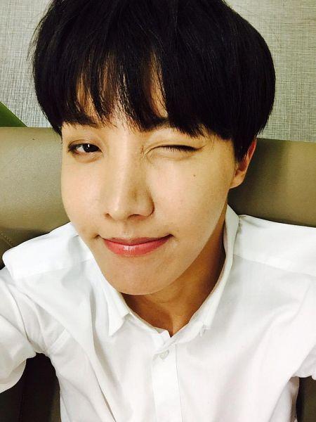 Tags: K-Pop, BTS, J-Hope, Close Up, Mole, Wink, Facial Mark, Selca