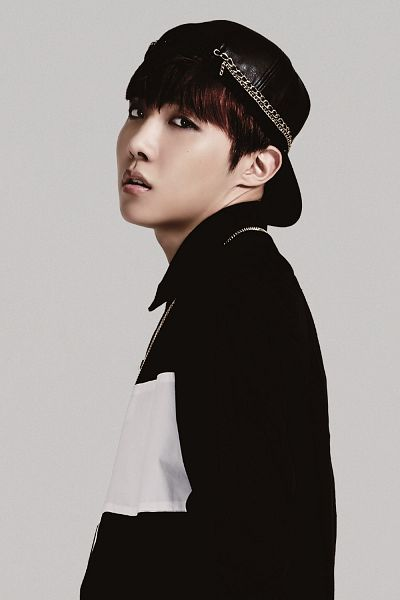 Tags: K-Pop, BTS, J-Hope, Black Headwear, Striped Shirt, Striped, Looking Back, Necklace, Hat, Wake Up, Android/iPhone Wallpaper
