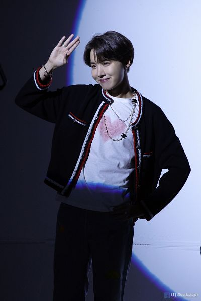 Tags: K-Pop, BTS, Outro: Ego, J-Hope, Heart, Necklace, Text: URL, English Text, Bracelet, Text: Artist Name, Ring, Hand On Hip