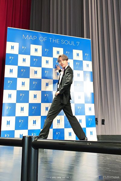 Tags: K-Pop, BTS, J-Hope, Bracelet, Indoors, English Text, Text: Album Name, Tie, Ring, Shadow, Text: URL, Hand On Hip
