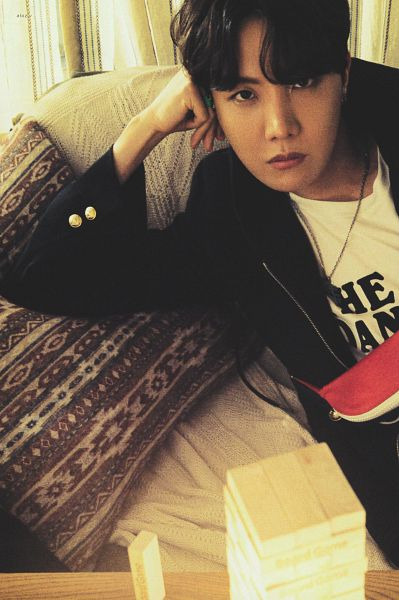 Tags: K-Pop, BTS, J-Hope, Hoodie, Pillow, Necklace, Arm Support, Hood, BTS The Best, Scan
