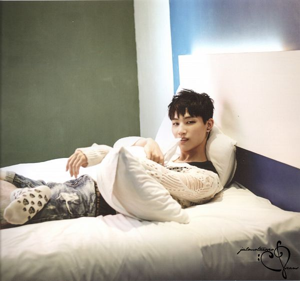 Tags: K-Pop, Got7, JB, Bed, Pillow, GOTCHA Photobook, Scan