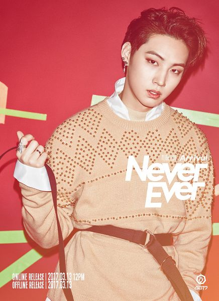 Tags: K-Pop, Got7, JB, Text: Album Name, Sweater, English Text, Text: Song Title, Ring, Text: Calendar Date, Make Up, Belt, Android/iPhone Wallpaper
