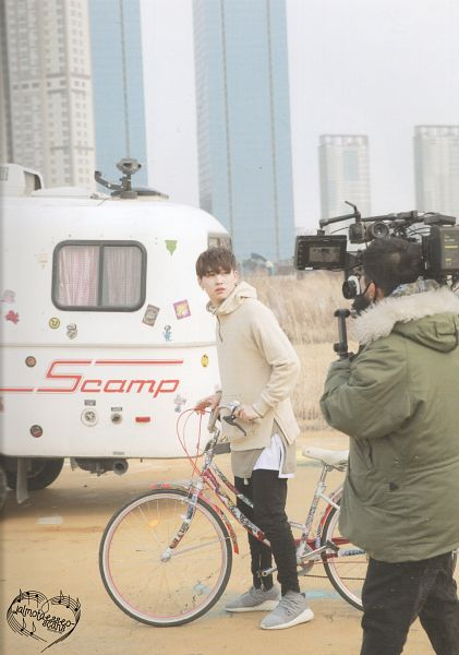 Tags: K-Pop, Got7, JB, Bicycle, Serious, Hoodie, Scan, Android/iPhone Wallpaper, Flight Log: Departure Monograph