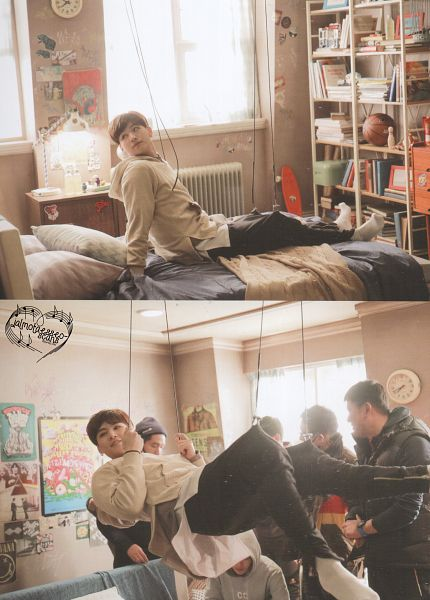 Tags: K-Pop, Got7, JB, Book, Hoodie, Black Pants, Bookshelf, Bed, Pillow, Window, Android/iPhone Wallpaper, Flight Log: Departure Monograph