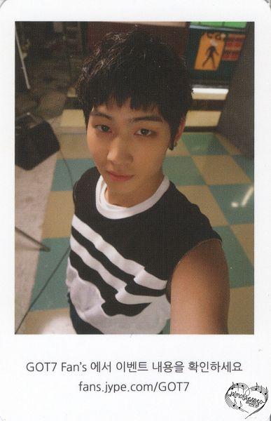 Tags: K-Pop, Got7, JB, Sleeveless Shirt, Korean Text, Bare Shoulders, Sleeveless, Text: URL, Android/iPhone Wallpaper, Scan, Identify