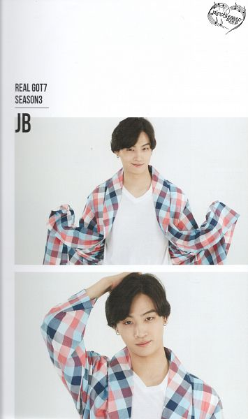 Tags: K-Pop, Got7, JB, Hand On Head, Nightwear, Scan, Android/iPhone Wallpaper, Real GOT7 Season 3 Photobook
