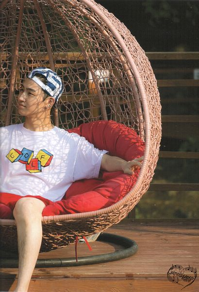 Tags: K-Pop, Got7, JB, Shorts, Hat, Red Shorts, Pillow, Sitting, Android/iPhone Wallpaper, Real GOT7 Season 3 Photobook, Scan