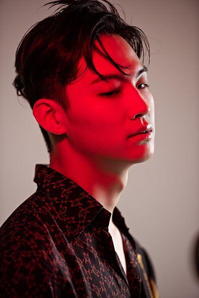 Tags: K-Pop, Got7, JB, Looking Ahead, Red, Serious, Men's Folio, Magazine Scan