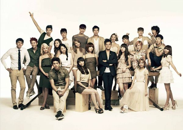 Tags: JYP Entertainment, K-Pop, K-Drama, 2PM, 2AM, Wonder Girls, Miss A, Kim Yubin, San E, Min, Ok Taecyeon, Yenny