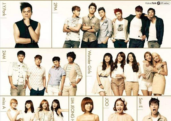 Tags: JYP Entertainment, C-Pop, K-Drama, K-Pop, Wonder Girls, Miss A, 2AM, 2PM, Min, Ahn Sohee, Woo Hyelim, Lim Jeong-hee