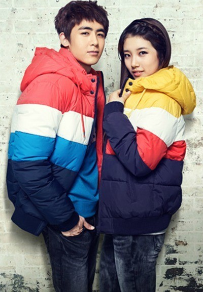 Tags: JYP Entertainment, K-Pop, Miss A, 2PM, Nichkhun, Bae Suzy, Hood, Duo, Hand In Pocket, Coat, Edwin
