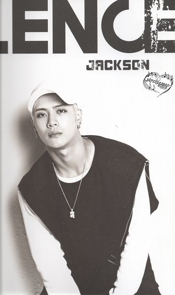 Tags: K-Pop, Got7, Jackson, Serious, Monochrome, Necklace, Hat, Scan, Android/iPhone Wallpaper, Flight Log: Turbulence